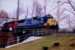 CSX 8619, HELM 6308 on Q301
